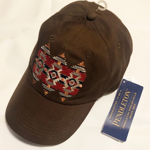 Chocolate Baseball Cap: Pendleton Baseball Cap Hat Chocolate Brown NWT